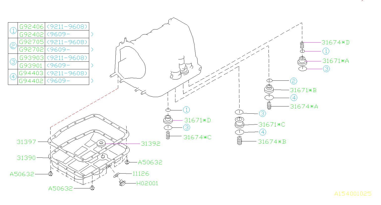 subaru impreza o ring case transmission seal. Black Bedroom Furniture Sets. Home Design Ideas