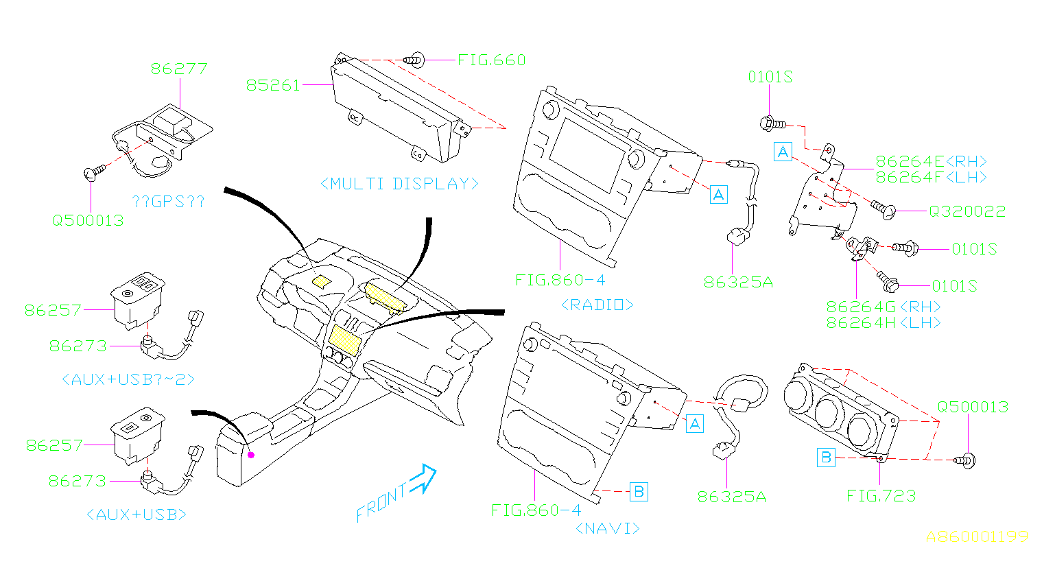 Subaru Impreza Radio Wiring Harness  Feeder Cord Adp