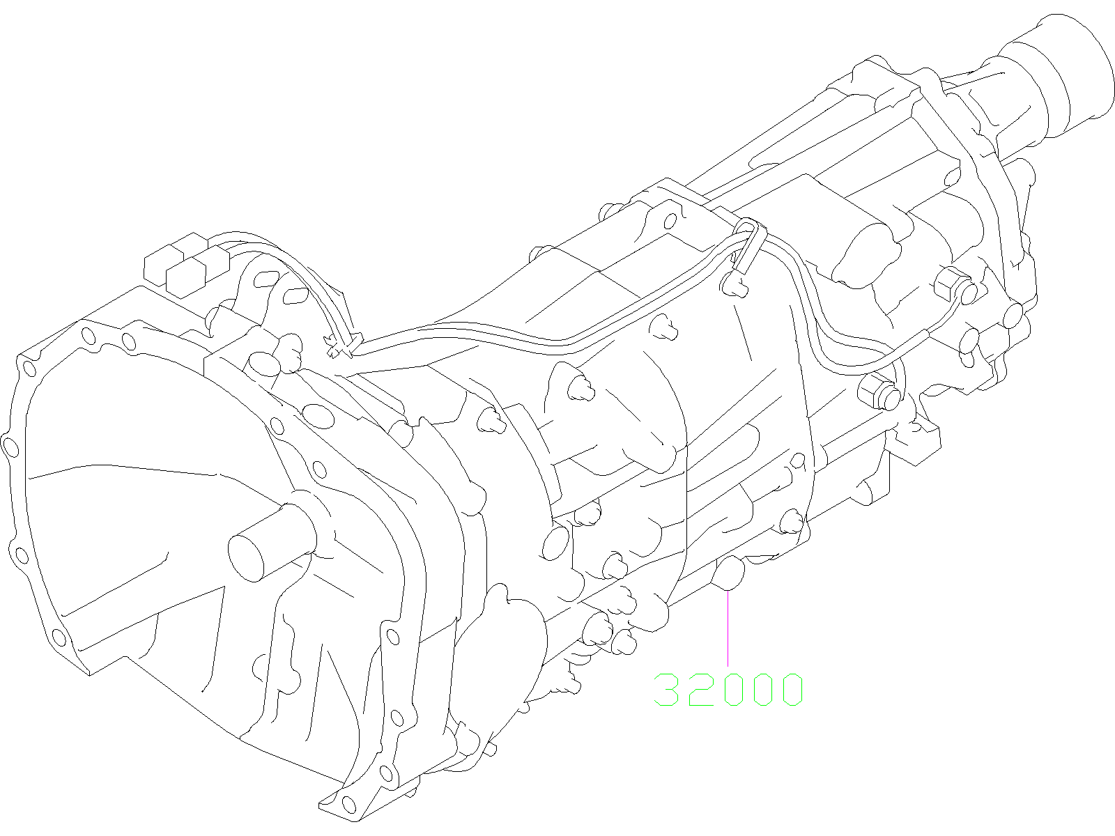 Subaru Impreza Manual Transmission  Assembly