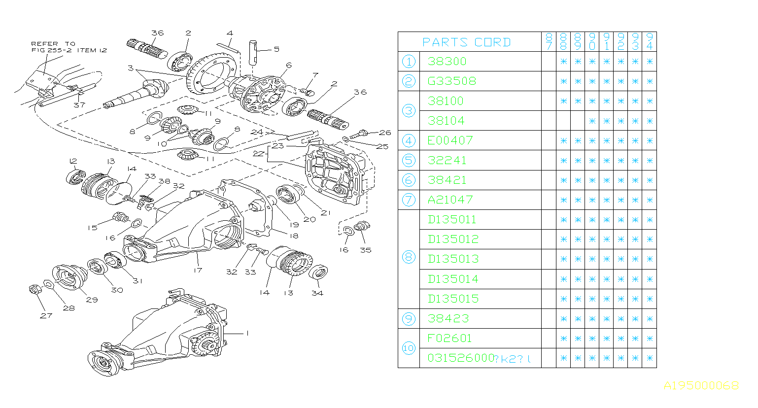 Wiring Diagram Subaru Justy