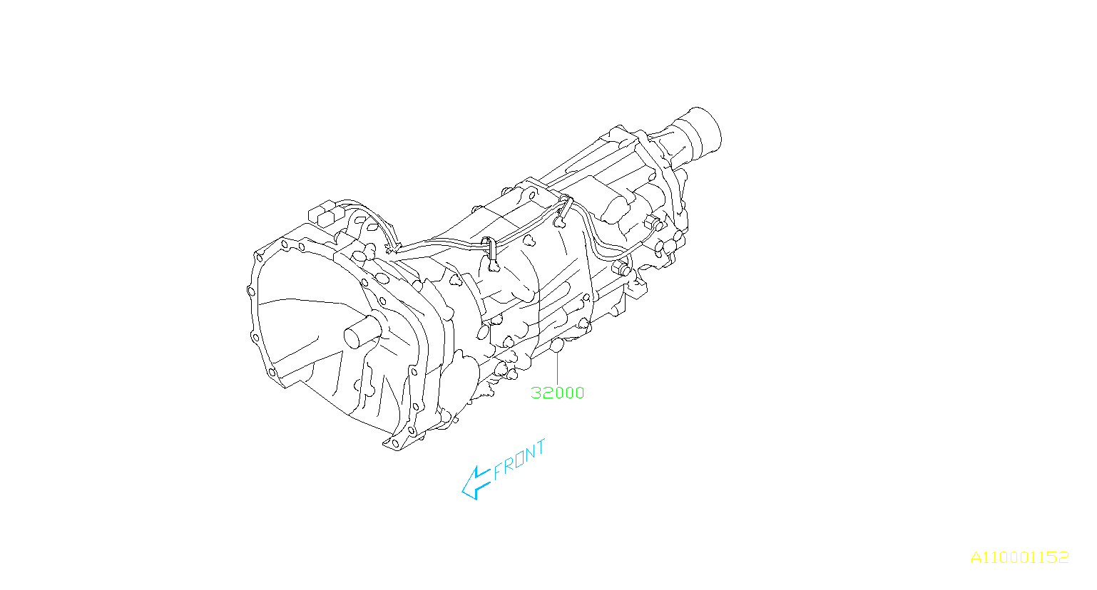 Subaru Forester Manual Transmission  Assembly
