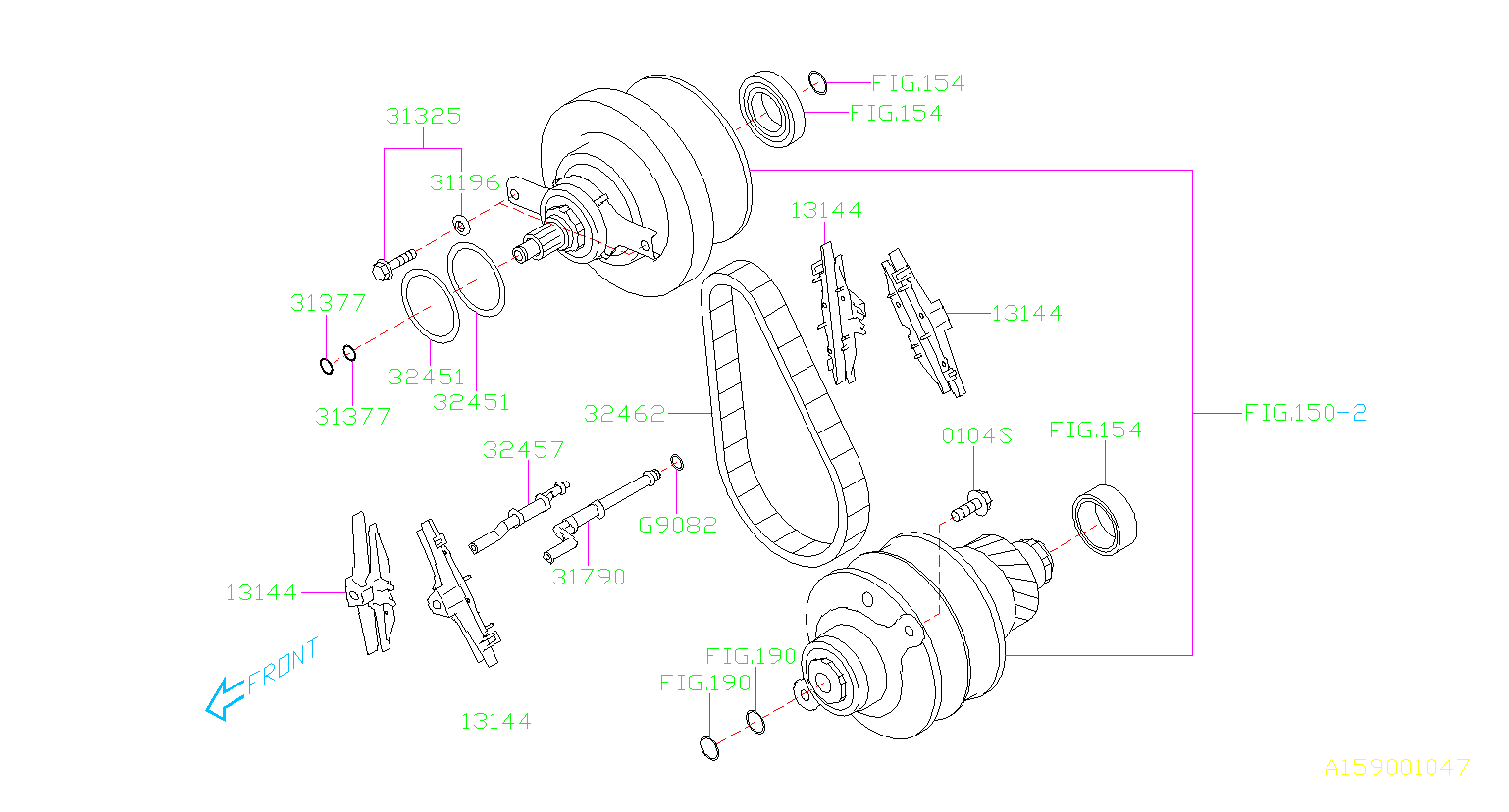 Subaru Forester Pipe-lubrication. Transmission, set ...