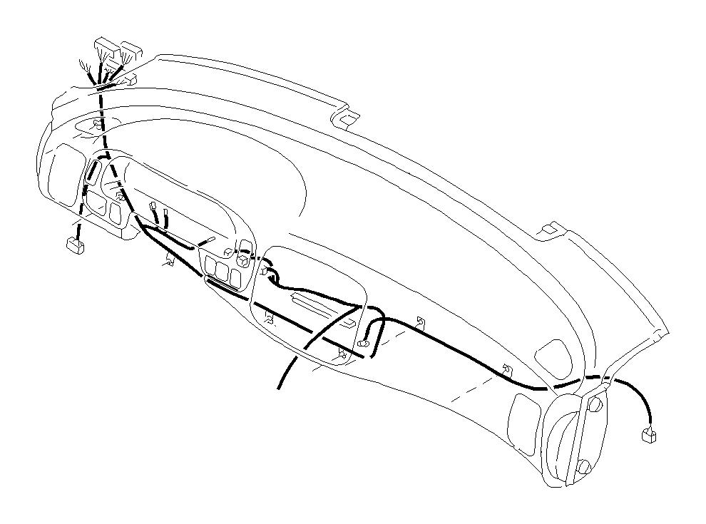 subaru legacy harness