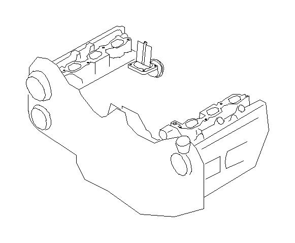 Subaru Legacy Valve Assembly Intake Control Manifold