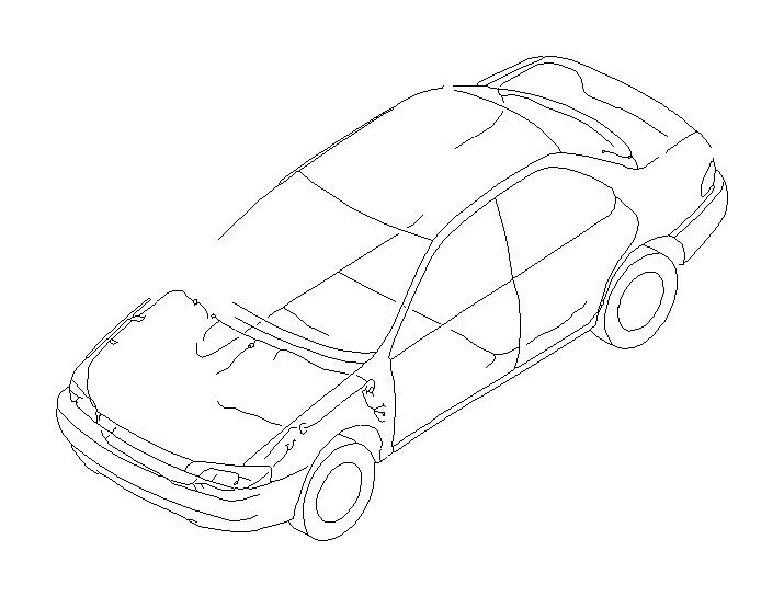 Subaru Impreza Defroster Earth Cord   Rear   Abs  Co  Main