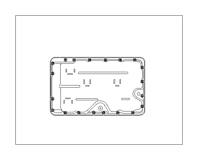 Subaru BRZ Automatic Transmission Oil Pan Magnet. Magnet ...