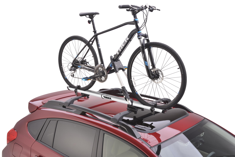 Subaru Outback Thule 174 Bike Carrier Roof Mounted Lock