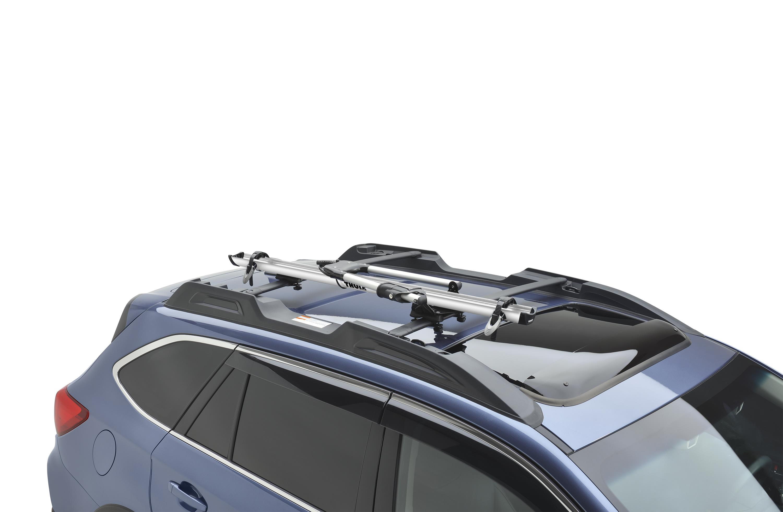 Subaru Forester Thule 174 Bike Carrier Roof Mounted Lock