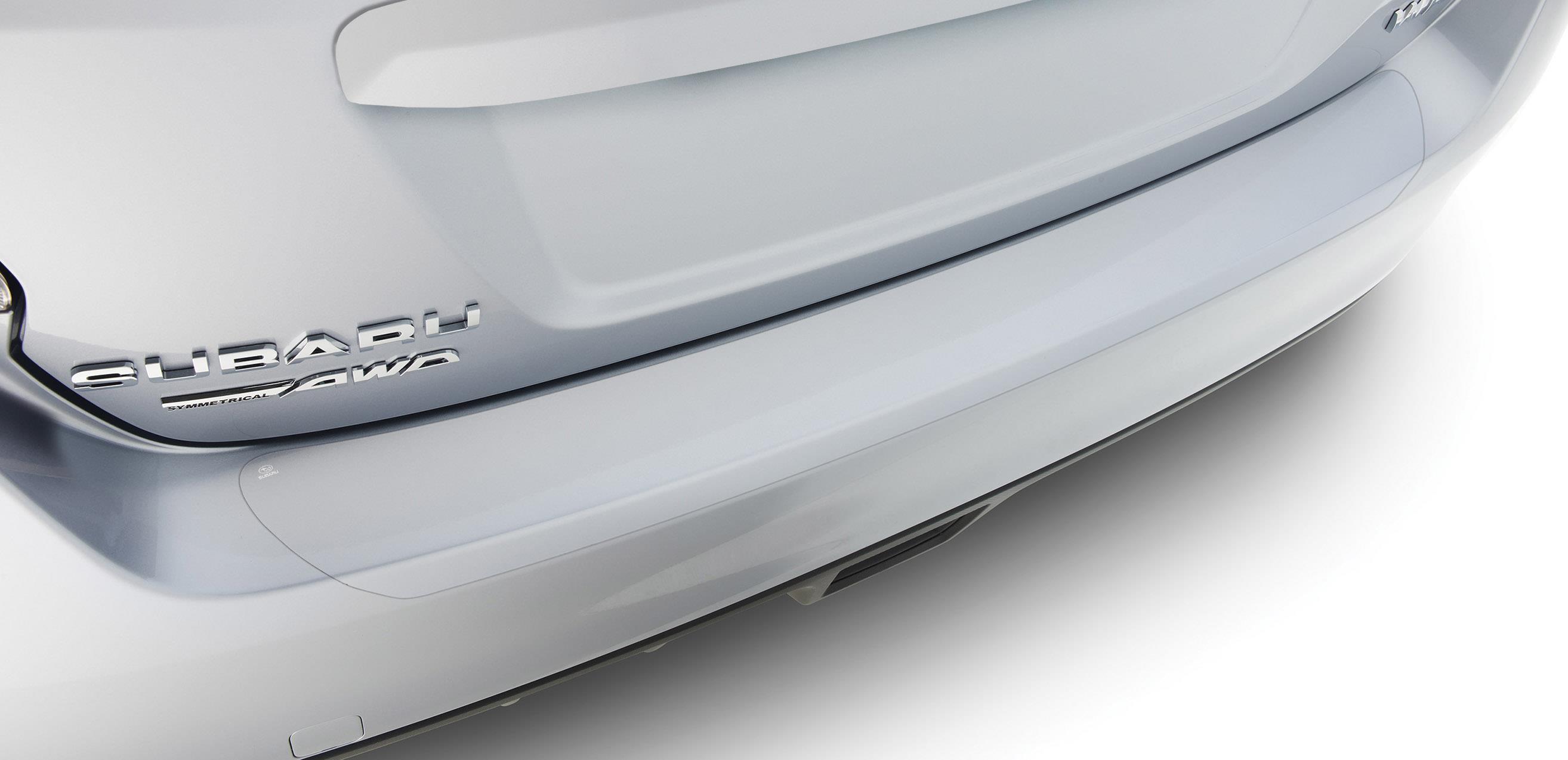 Subaru Sti Rear Bumper Applique 4dr Rear Bumper Appl