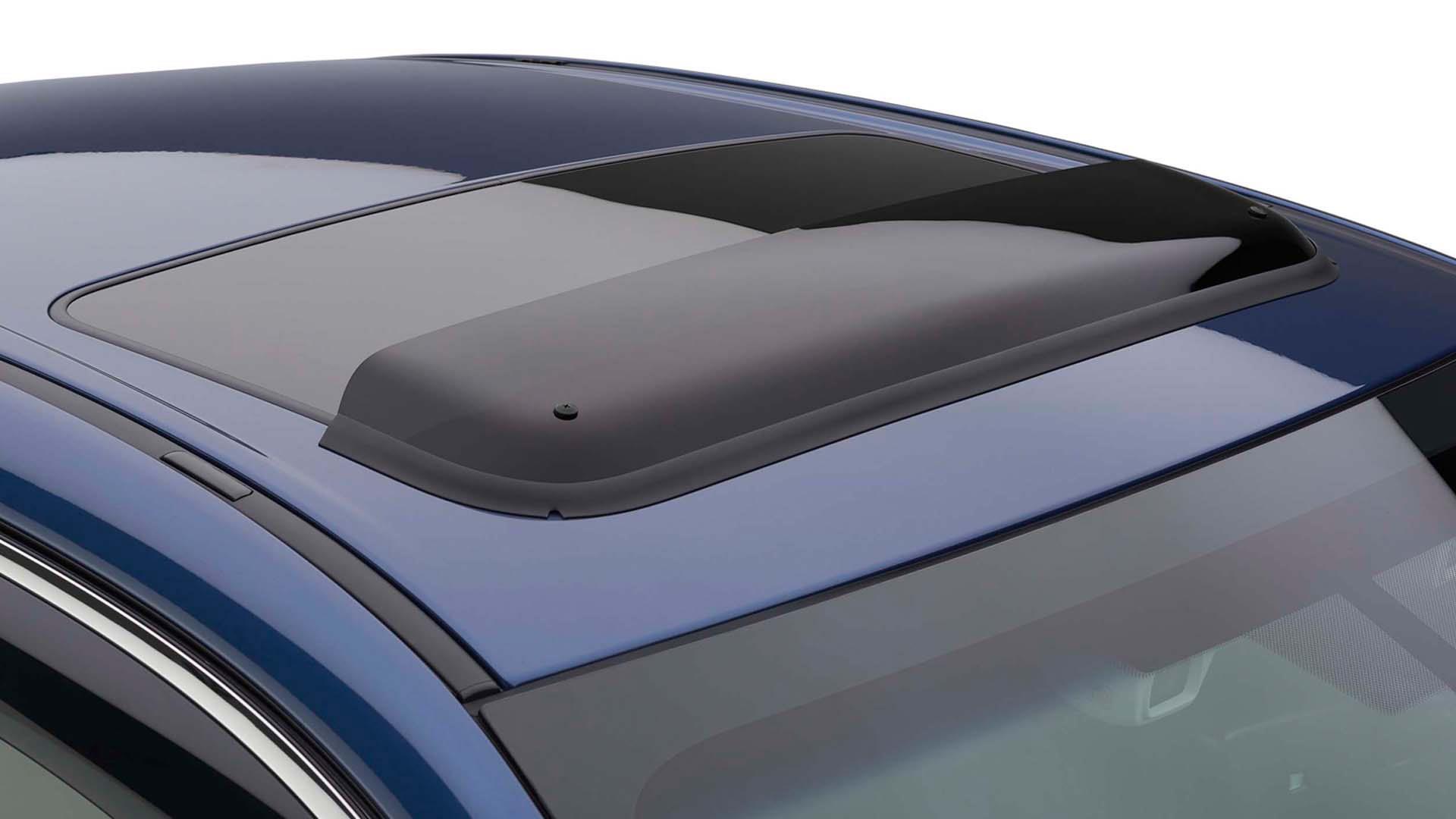 Subaru Outback Moonroof Air Deflector Helps Reduce Wind